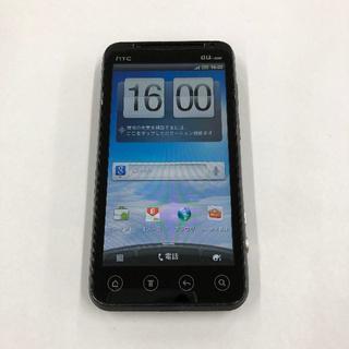 ハリウッドトレーディングカンパニー(HTC)のau HTC ISW12HT (HTI12) ブラック(スマートフォン本体)