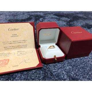 カルティエ(Cartier)のカルティエ ラブリング PG 1ダイヤモンド(リング(指輪))