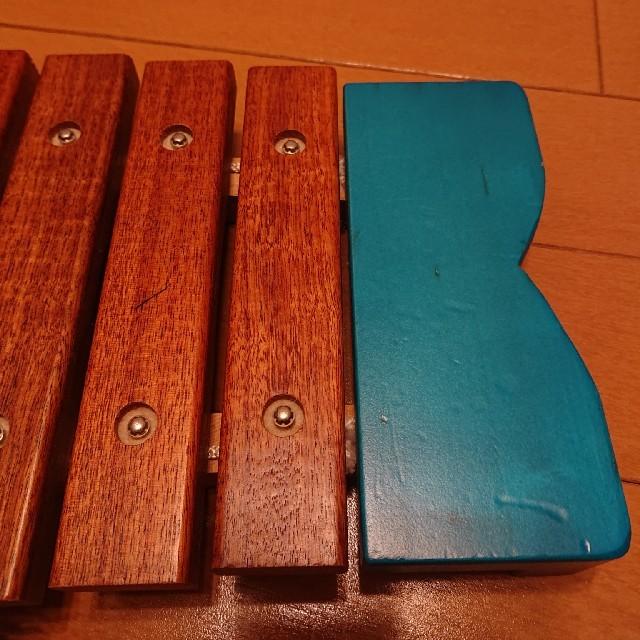BorneLund(ボーネルンド)のボーネルンド おさかな シロフォン 青 キッズ/ベビー/マタニティのおもちゃ(楽器のおもちゃ)の商品写真