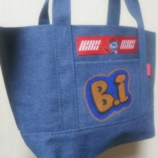 アイコン(iKON)の♥️iKON B.I ペイントバッグ♥️ハンビン KRUNK(ハンドバッグ)