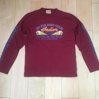 インディアン(Indian)のインディアンモトサイクル ロンT(Tシャツ/カットソー(七分/長袖))