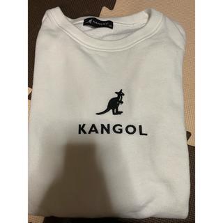 カンゴール(KANGOL)のカンゴール 白 トレーナー スウェット(トレーナー/スウェット)