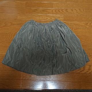 レプシィム(LEPSIM)のLEPSIM カーキ スカート(ひざ丈スカート)