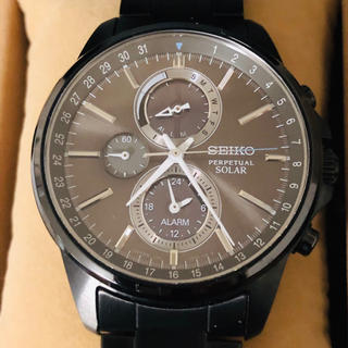 セイコー(SEIKO)の【美品】腕時計SEIKO スピリット ソーラー時計(腕時計(アナログ))