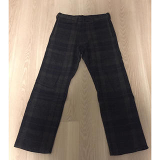 エンジニアードガーメンツ(Engineered Garments)のts(s) チェックウールパンツ(スラックス)