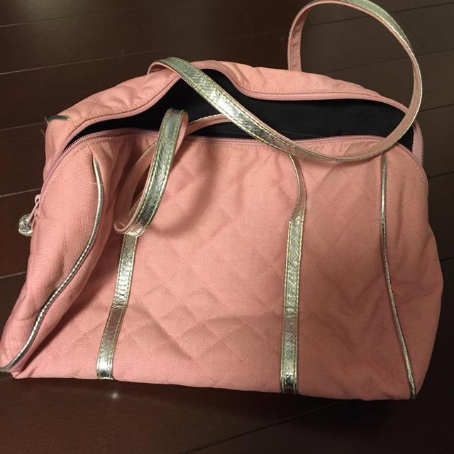 MZ WALLACE(エムジーウォレス)のMZWALLAGE ピンクボストンバック レディースのバッグ(ボストンバッグ)の商品写真