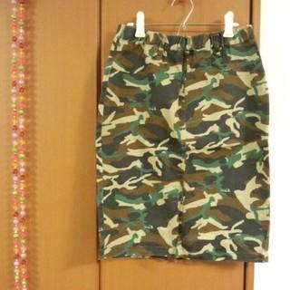 レプシィム(LEPSIM)のレプシム  迷彩スカート(ひざ丈スカート)