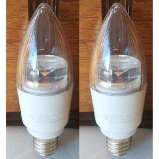 コイズミ(KOIZUMI)の新品2個セット!コイズミ LED電球 LDC4L-E17(蛍光灯/電球)