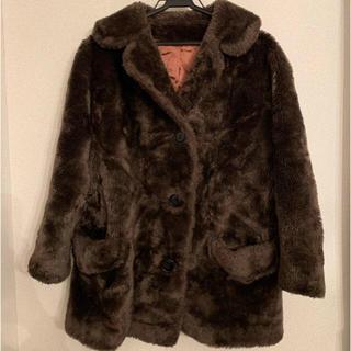 EDIT.FOR LULU - vintage fur coar