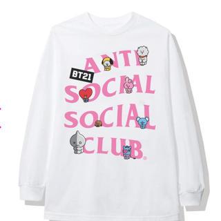 ボウダンショウネンダン(防弾少年団(BTS))のantisocialsocialclub BT21 ロンT(Tシャツ/カットソー(七分/長袖))