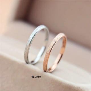 ラフリング  ステンレスリング ステンレス指輪 ピンキーリング (リング(指輪))