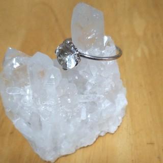 【GAGY ガギ】ヒマラヤ水晶   シルバーリング(リング(指輪))