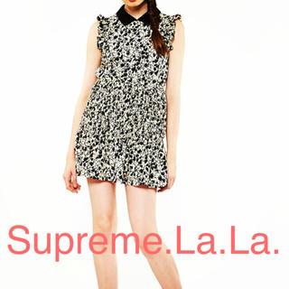 シュープリームララ(Supreme.La.La.)のSupreme.La.La. ハート柄シャツワンピース(ひざ丈ワンピース)