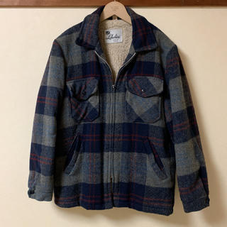 ウールリッチ(WOOLRICH)のLakeshire  CheckWool Jacket MADE IN USA(ブルゾン)