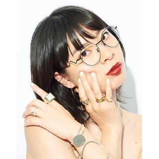 ゾフ(Zoff)の★新品★Zoff LOVE BY e.m. Eyewear Sharp ブラック(サングラス/メガネ)
