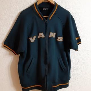 ヴァンズ(VANS)の希少 90s VANS 66 スウェット ベースボールシャツ 半袖 トレーナー(スウェット)