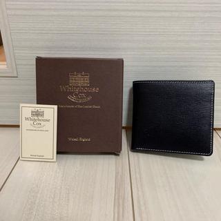 ホワイトハウスコックス(WHITEHOUSE COX)のWhitehouse Cox ホワイトハウスコックス 財布 S7532 未使用(折り財布)