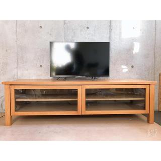 ムジルシリョウヒン(MUJI (無印良品))の【中古】無印良品のテレビ台 テレビボード(リビング収納)