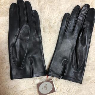 クリスチャンディオール(Christian Dior)の「最終値下」手袋 クリスチャンディオール Christian Dior 本革(手袋)