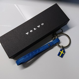 ボルボ(Volvo)の新品未使用品! VOLVO(ボルボ)ノベルティキーホルダー(車外アクセサリ)