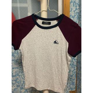ベルシュカ(Bershka)のピッタリ 外人風 tシャツ(Tシャツ(半袖/袖なし))