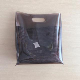 ステュディオス(STUDIOUS)の新品未使用【LAUGOA】かぎ針インナーバッグ付きクリアハンドバッグ(ハンドバッグ)