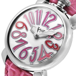 ガガミラノ(GaGa MILANO)のガガミラノ【ピンク】腕時計 GAGA MILANO MANUALE 5020.6(腕時計)