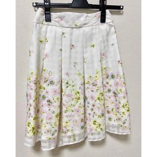ロディスポット(LODISPOTTO)のロディスポット   フルールボーテ花柄スカート ピンク(ミニスカート)