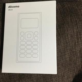 エヌティティドコモ(NTTdocomo)のドコモ ワンナンバーフォン ON 01 (携帯電話本体)