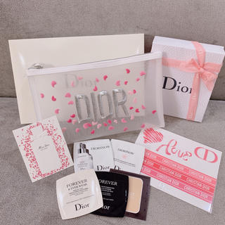 ディオール(Dior)の値下げ再出品の為、今夜消去   計10点💕ポーチ+9点おまけ💕(セット/コーデ)