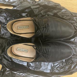 ドリスヴァンノッテン(DRIES VAN NOTEN)のドリスヴァンノッテン 革靴 ブラック(ローファー/革靴)
