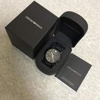 エンポリオアルマーニ(Emporio Armani)の【美品】EMPORIO ARMANI腕時計(腕時計)