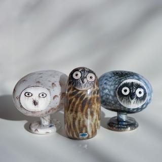 イッタラ(iittala)のオイバトイッカ イッタラ  バード Eagle Pearl owl(置物)