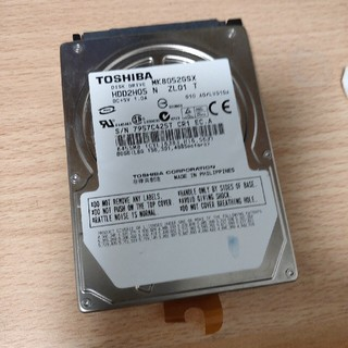 トウシバ(東芝)の東芝(Toshiba) MK8052GSX 80GB 5400rpm HDD(PCパーツ)
