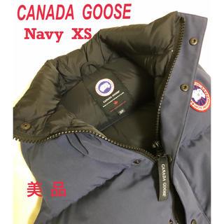 CANADA GOOSE - 【美品】CANADA GOOSE カナダグース ダウンベスト ネイビー