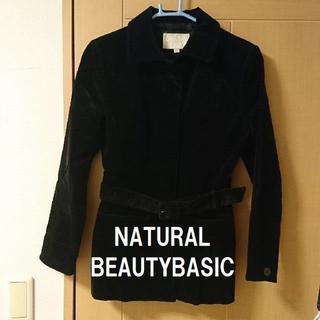 ナチュラルビューティーベーシック(NATURAL BEAUTY BASIC)の★格安 NBB(ナチュラルビューティーベーシック)ショートコートコーデュロイ(その他)
