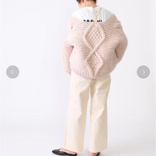 ロンハーマン(Ron Herman)の【新品未使用定価以下】i love mr mittens ケーブル ニットカーデ(ニット/セーター)