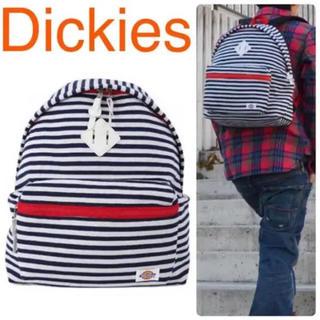 新品 Dickies ディッキーズ リュック バックパック スウェット ボーダー