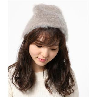 JOURNAL STANDARD - 美品JOURNALSTANDARD BALMUIRモヘヤニットキャップニット帽子
