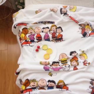スヌーピー(SNOOPY)の新品・未使用 ♡スヌーピー♡ ブランケット 毛布(毛布)