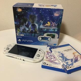 ソニー(SONY)のSONY PlayStationVITA  本体 PCHJ-10009(携帯用ゲーム機本体)