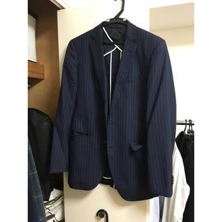 スーツカンパニー(THE SUIT COMPANY)の【中古】THE SUIT COMPANY Mサイズ スーツ上下 紺 スーツ(スーツジャケット)