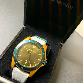 エンポリオアルマーニ(Emporio Armani)の[エンポリオアルマーニ] 腕時計 AR11234 メンズ (ラバーベルト)