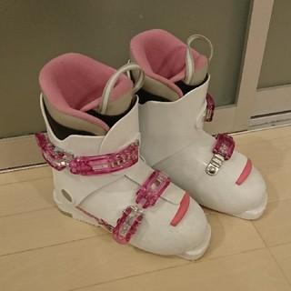 スキーブーツ 21cm   女の子 ジュニア(ブーツ)