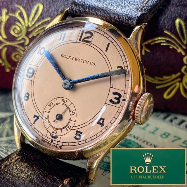 グッチ コピー 値段 - ROLEX - はっちゃん様 専用【一点物】ROLEX ★ ロレックス 14KGP 手巻き腕時計の通販