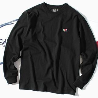 ロンハーマン(Ron Herman)のfruit of the loom ロンT 黒M 長袖Tシャツ(Tシャツ/カットソー(七分/長袖))