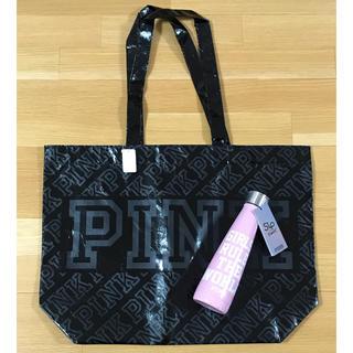 Victoria's Secret - 【新品】PINK×S'wellコラボステンレスボトル&PINKトートバッグ