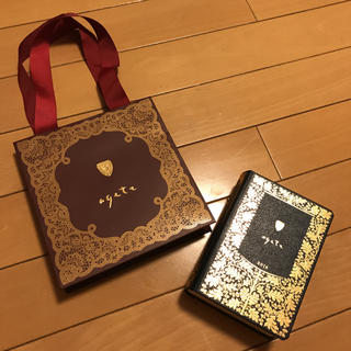 アガット(agete)のアガット 箱 紙袋(ショップ袋)