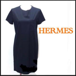 エルメス(Hermes)のエルメスのコットンワンピース(ミニワンピース)