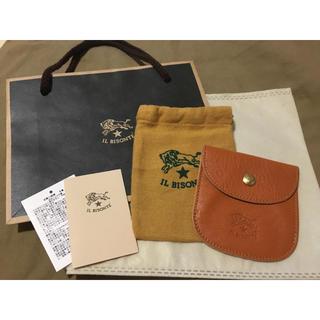 イルビゾンテ(IL BISONTE)のほぼ未使用 紙袋付◆イルビゾンテ 正規品 コインケース 小銭入れ 定価9900円(コインケース/小銭入れ)